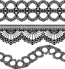 Image Result For Lace Garter Drawing Pattern Lace Painting Lace Drawing Lace Tattoo Design