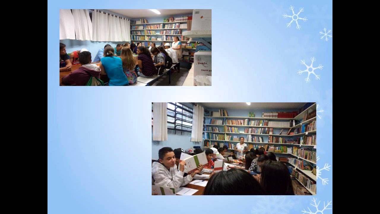 Sala de Leitura - Diretoria de Ensino de São Bernardo do Campo - Município de São Bernardo do Campo - Escola Yolanda Noronha do Nascimento Professora.