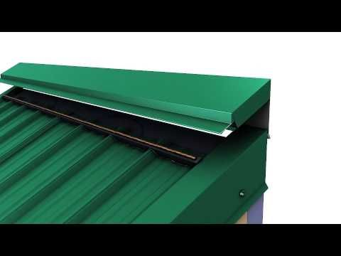 Union Corrugating Provides How To Install Metal Roofing Videos For Masterrib Panels And Advantage Lok Ii St Metal Roof Installation Metal Roof Vents Metal Roof