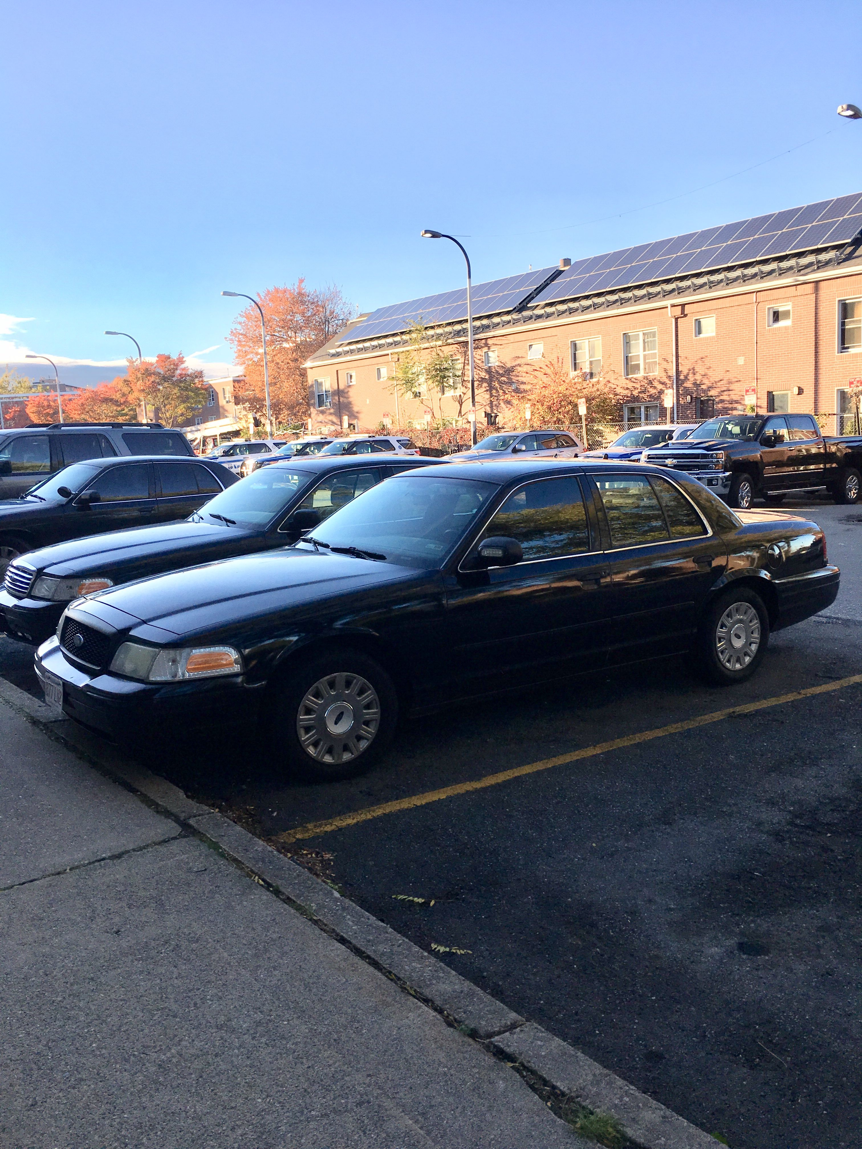 Unmarked Crown vic part of Lowell Police Department | Police