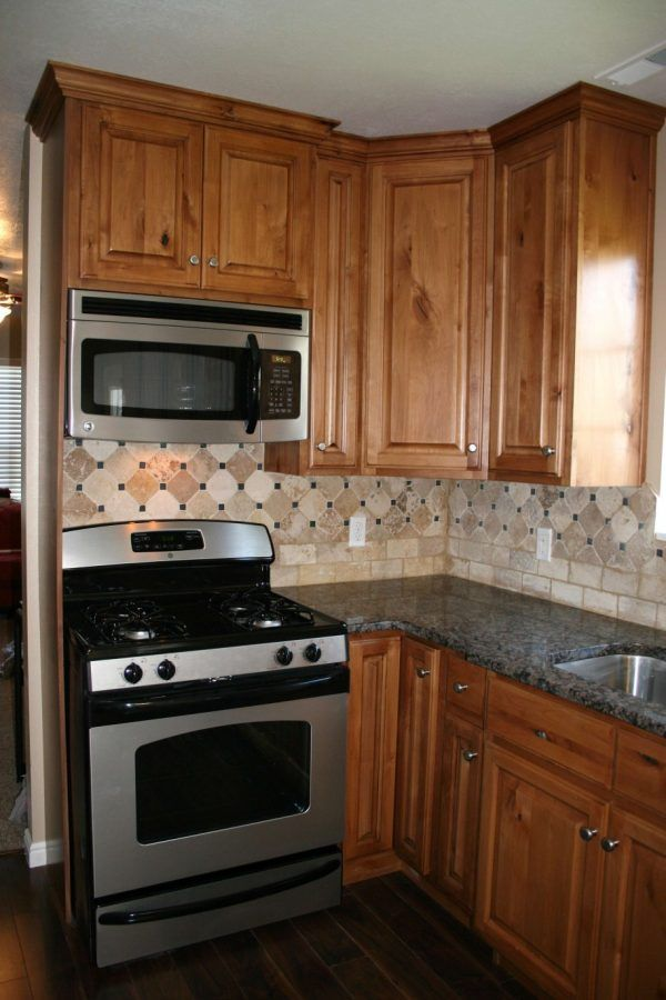 gorgeous kitchen cabinet backsplash ideas using natural stone tile
