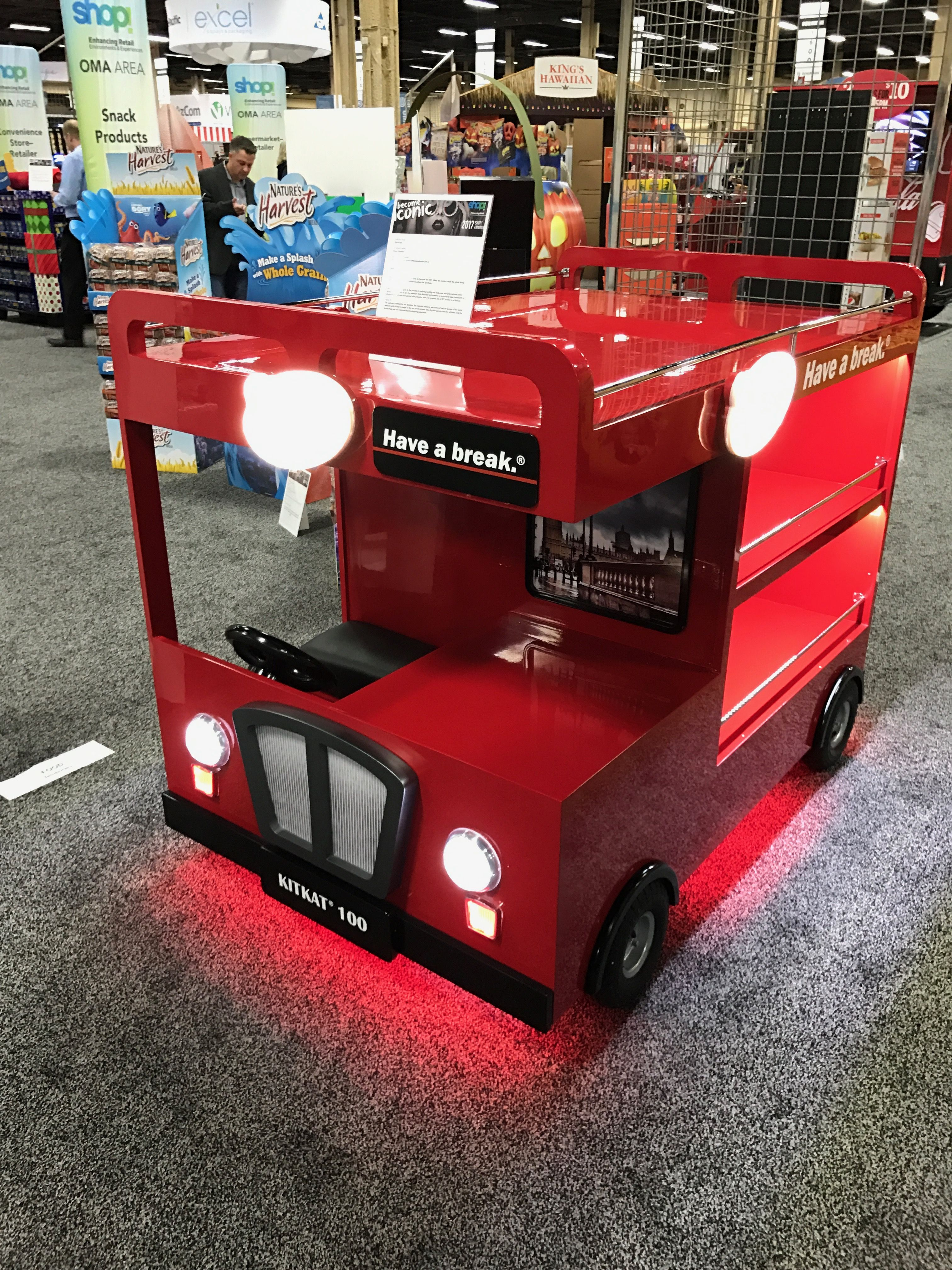 Looking To Purchase This Unit: Kit Kat Bus Free Standing Unit