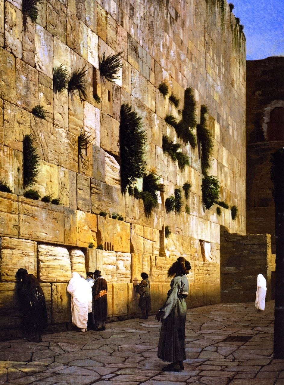 Solomons Wall Jerusalem - Jean-Leon Gerome | Art V | Pinterest ...