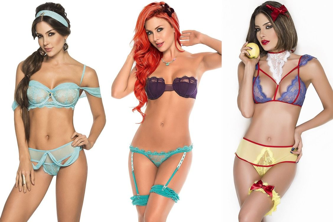 5fff38c09f You Can Get Disney Princess-Inspired Lingerie Sets for  24 (Yes ...