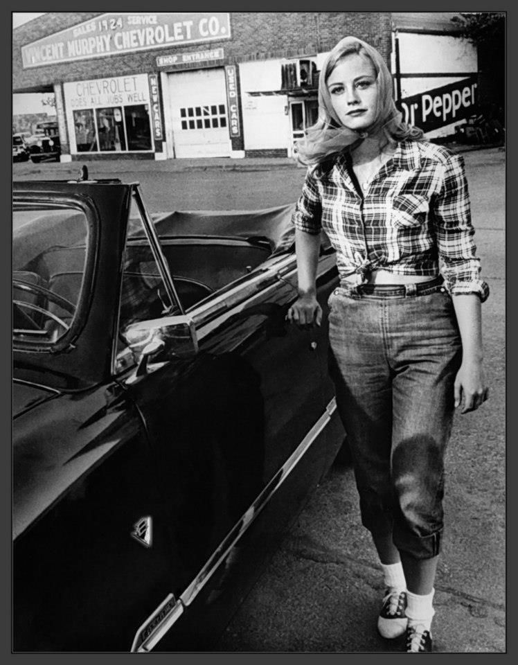 Cybill Sheppard at 'The Last Picture Show', Peter