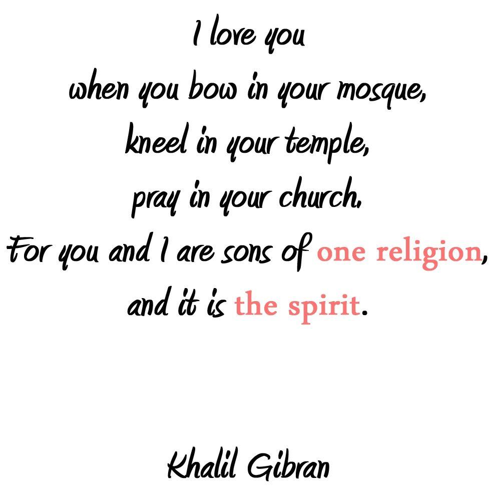 Image result for kahlil gibran religion