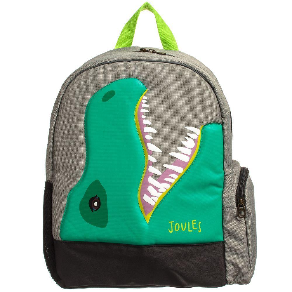 afbb37f933d1 Joules - Boys  ZippyB  Dinosaur Backpack (36cm)