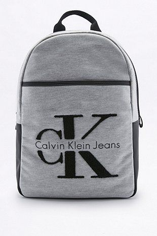 7b9f128b577 Calvin Klein RE-ISSUE 2.0 Grey Neoprene Backpack