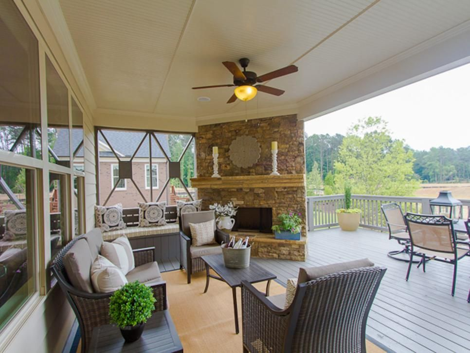 HGTV presents a photo gallery with ideas for ceiling fans ...