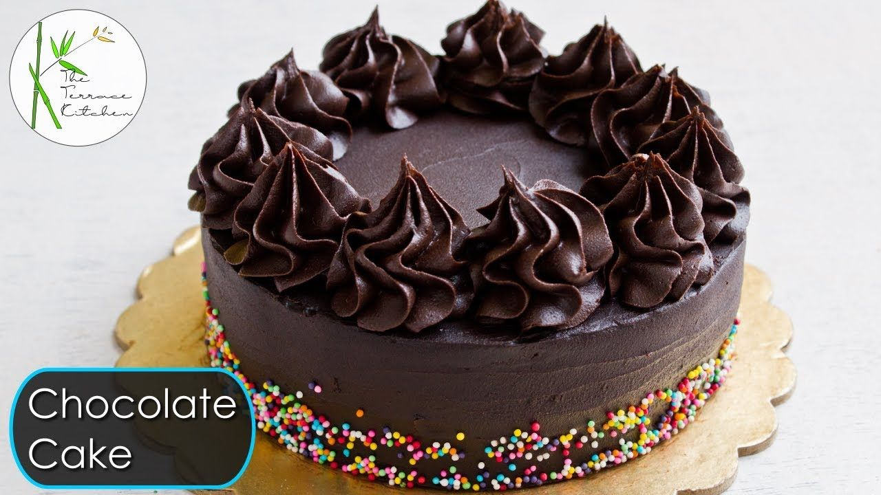 Eggless Chocolate Cake without Oven   Moist & Rich ...