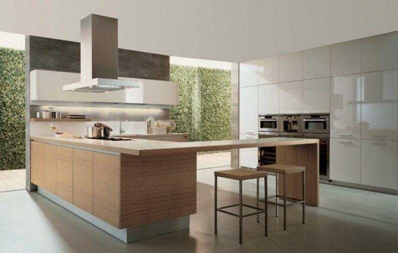Alea Minimalist Kitchen Design By Paolo Piva   Varenna Poliform   Best  Kitchen Design