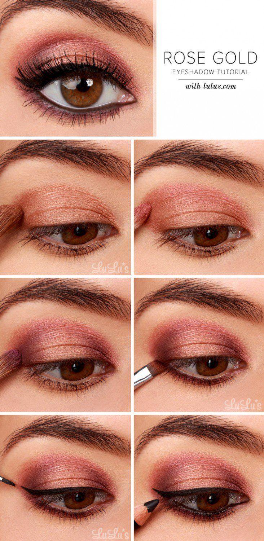 & Easy Makeup Tutorials For Brown Eyes Brown