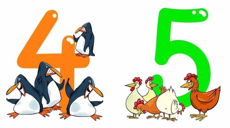 Funny Animals Number Printables Funny Numbers With Animals