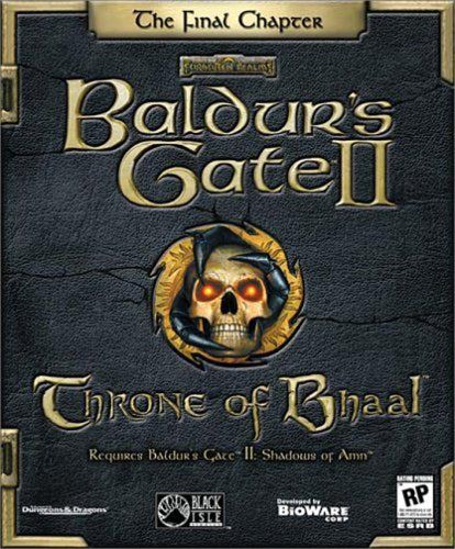 Baulder S Gate Ii Throne Of Bhaal My Favorite Game Growing Up