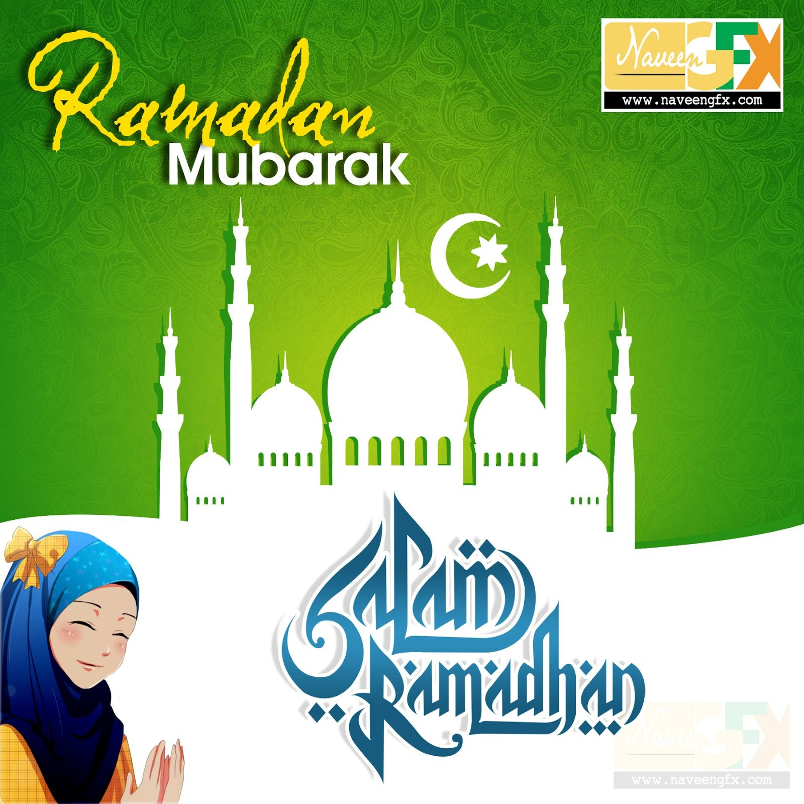 Hd wallpaper ramzan mubarak - Ramadan Mubarak Kareem Stylish Wallpaper