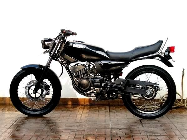 Modifikasi Yamaha Rx King Serba Hitam Hitam Motor Mobil