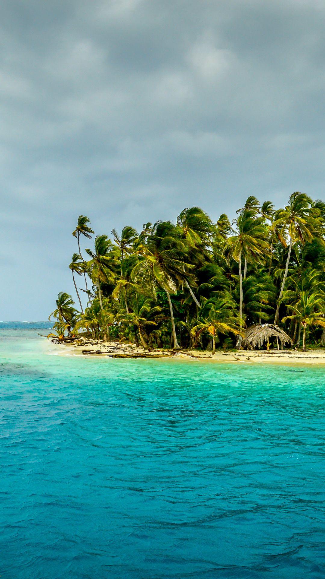 Tropical Island Earth Island Earth Horizon Island Palm Tree Tropical 1080x1920 Mobile Wallpaper Island Wallpaper Wallpaper Earth Beach Pictures