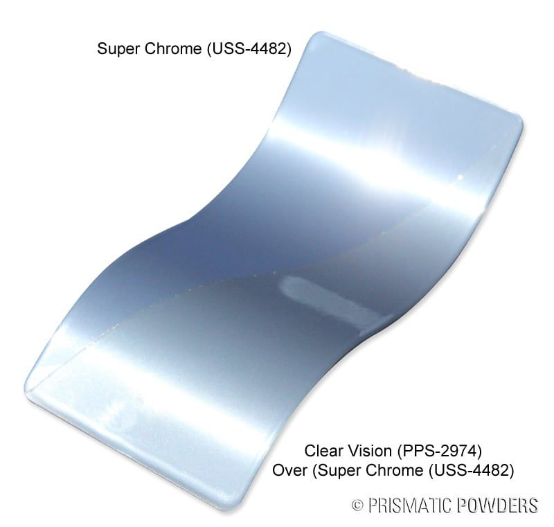 How to Powder Coat Super Chrome from Prismatic Powders