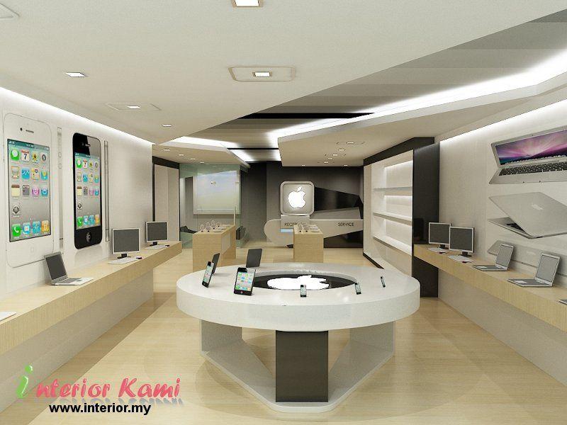 computer-shop-3d-interior- ... | diseño interior de tiendas ...
