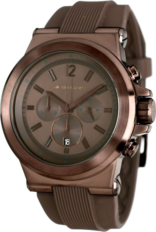 Michael Kors Mens Chrono\u0027s Dylan Bronze Michael Kors watch for men
