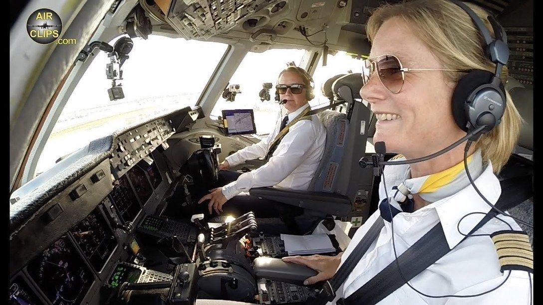 Airclips Com Was Exclusively Invited To Join Captain Inge And