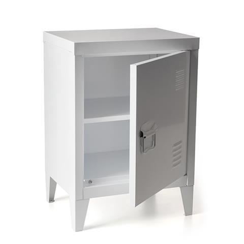 metal locker small white kmart 29