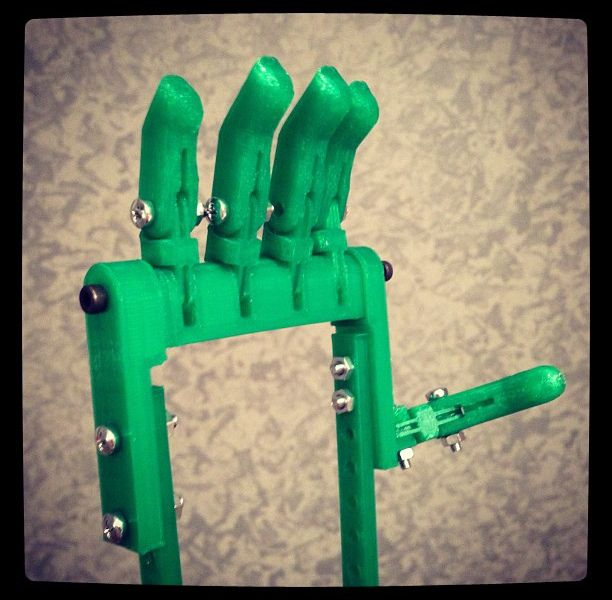 After 3D Printed Prosthetic Hand Comes 3D Printed