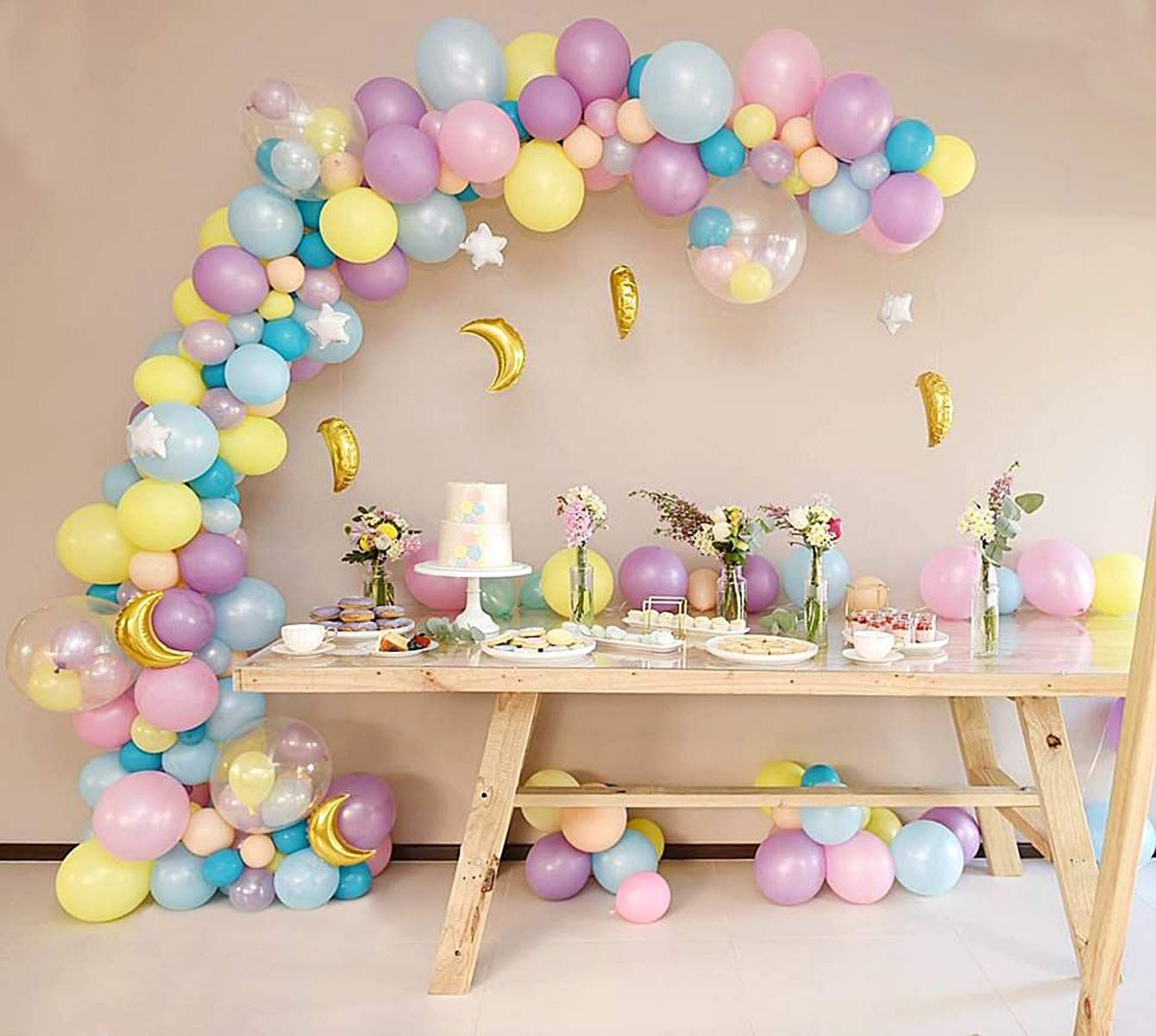 Balloon decorating strip tape 50ft for arch garland