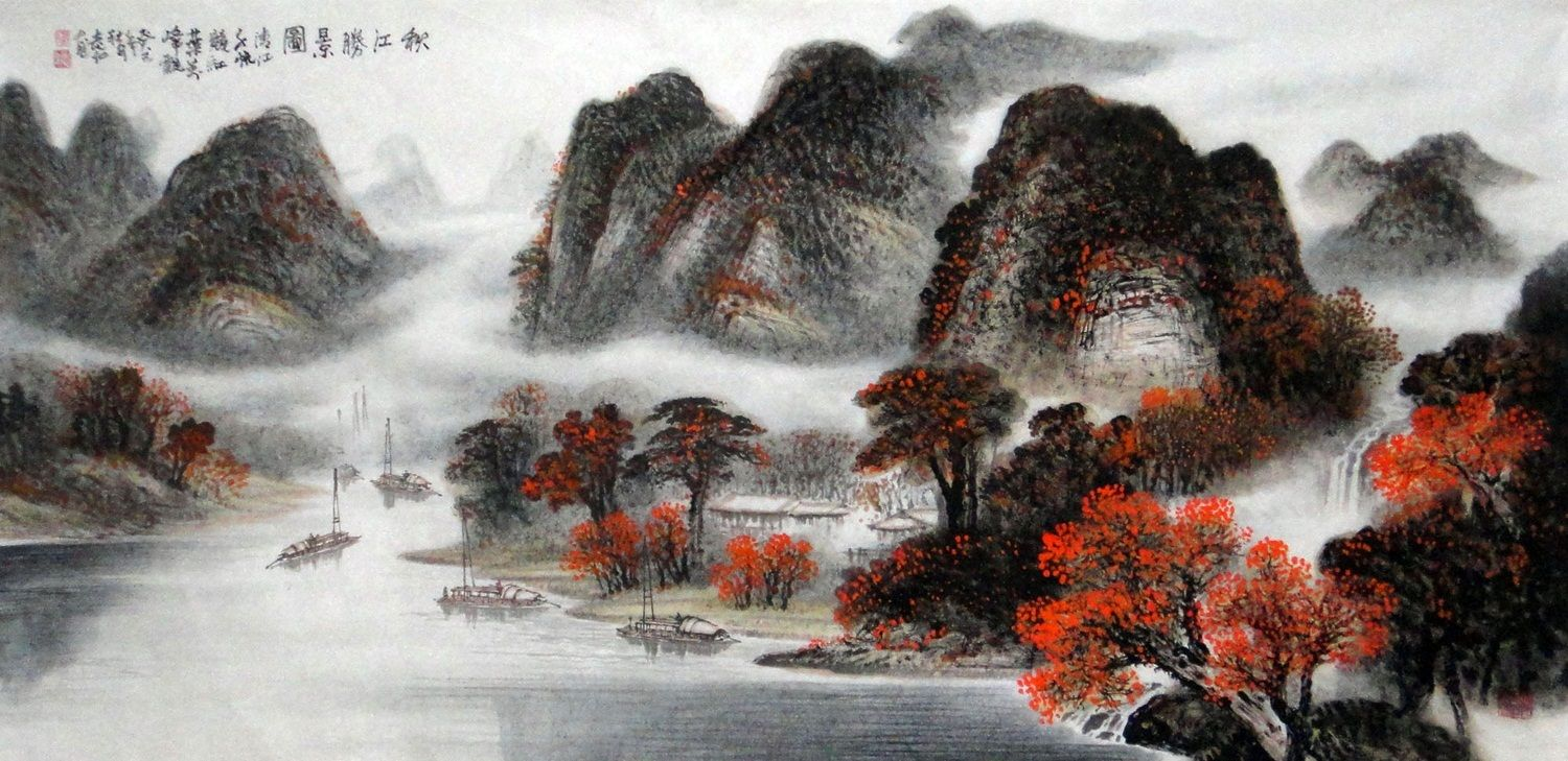 2020 的 Chinese Painting Modern Art Famous Artists Nature For Sale