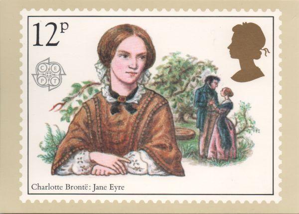 Charlotte Brontë Stamp Stamp Jane Eyre Uk Stamps