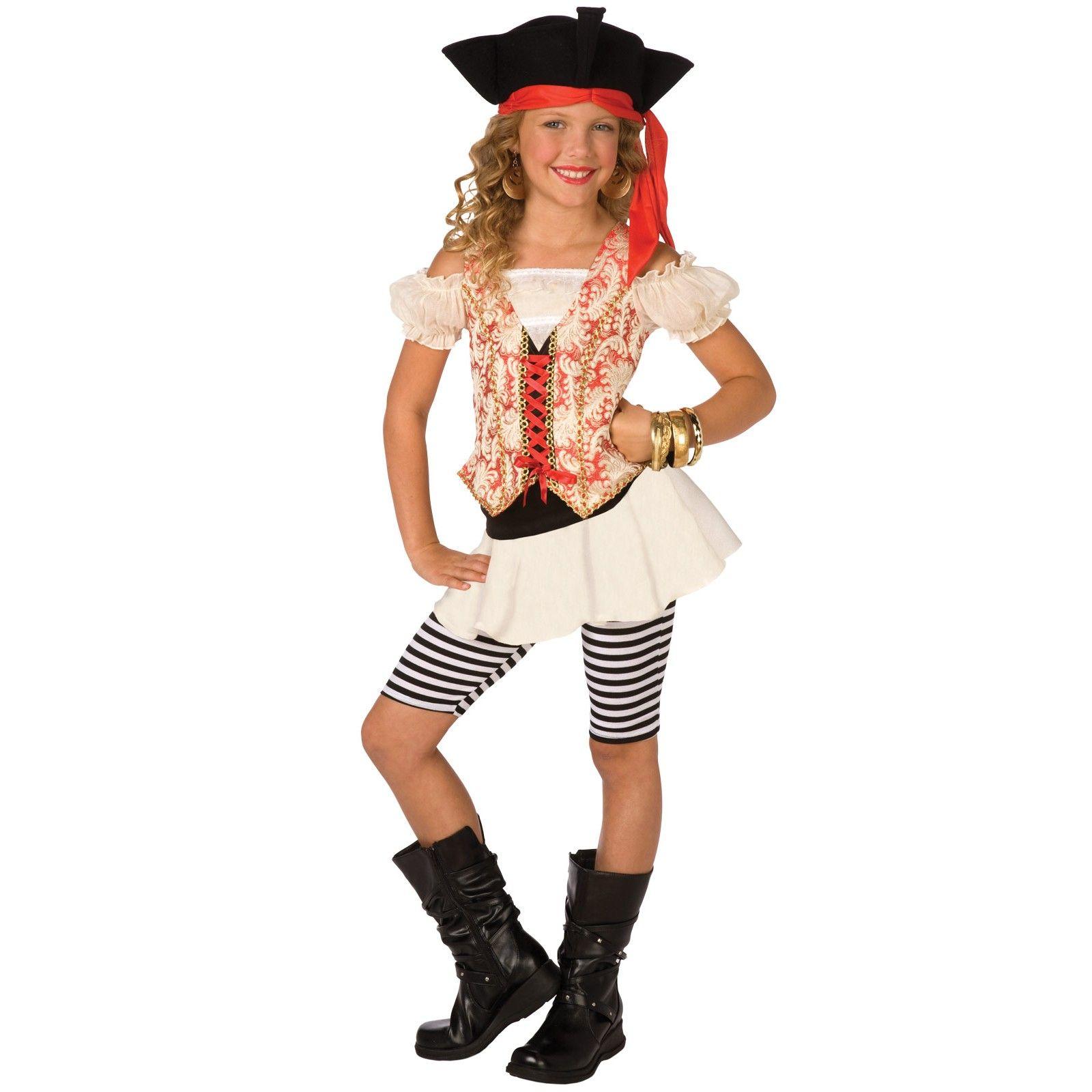 swashbuckler child costume pirate costumeshalloween - Teenage Girl Pirate Halloween Costumes
