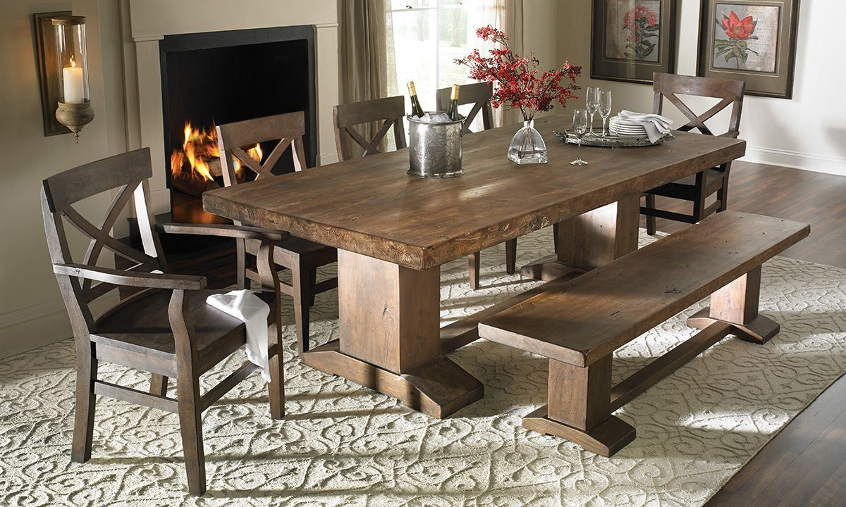 Formal Dining Room Sets With Bench