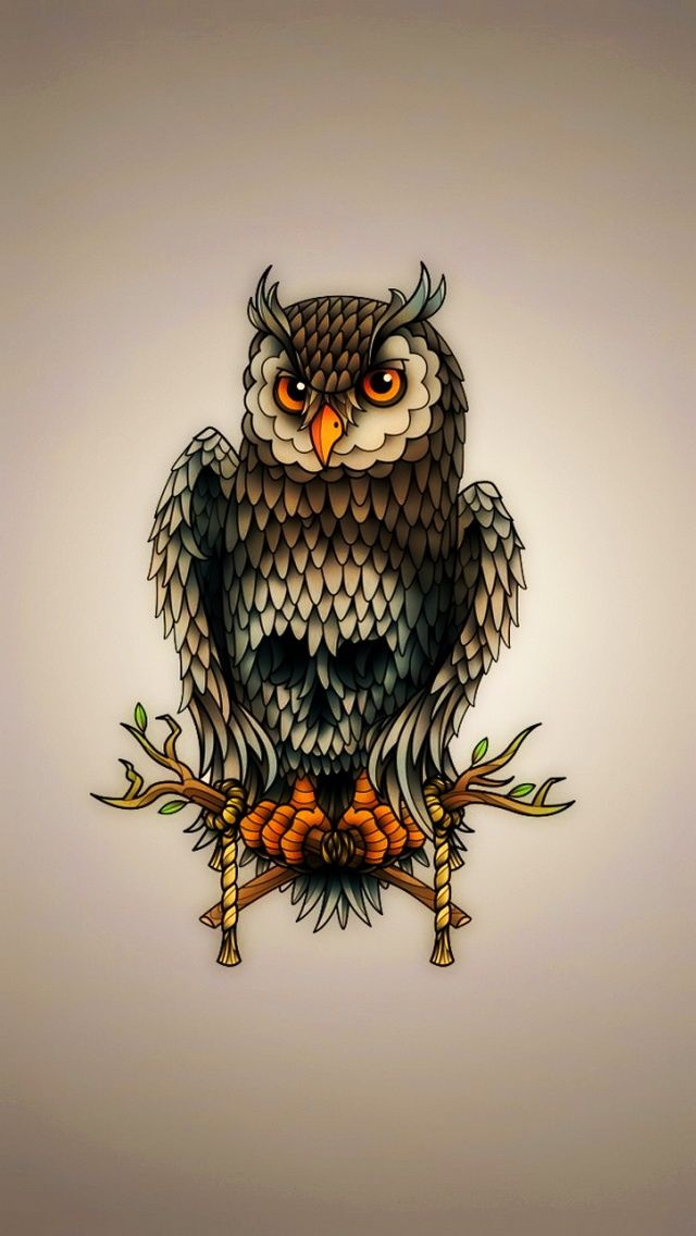 Owl Art Iphone Birds Wallpapers Mobile9 Owl Wallpaper Owl Wallpaper Iphone Owl