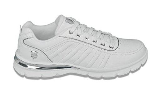 K-Swiss Shoes Court Le Comfort White