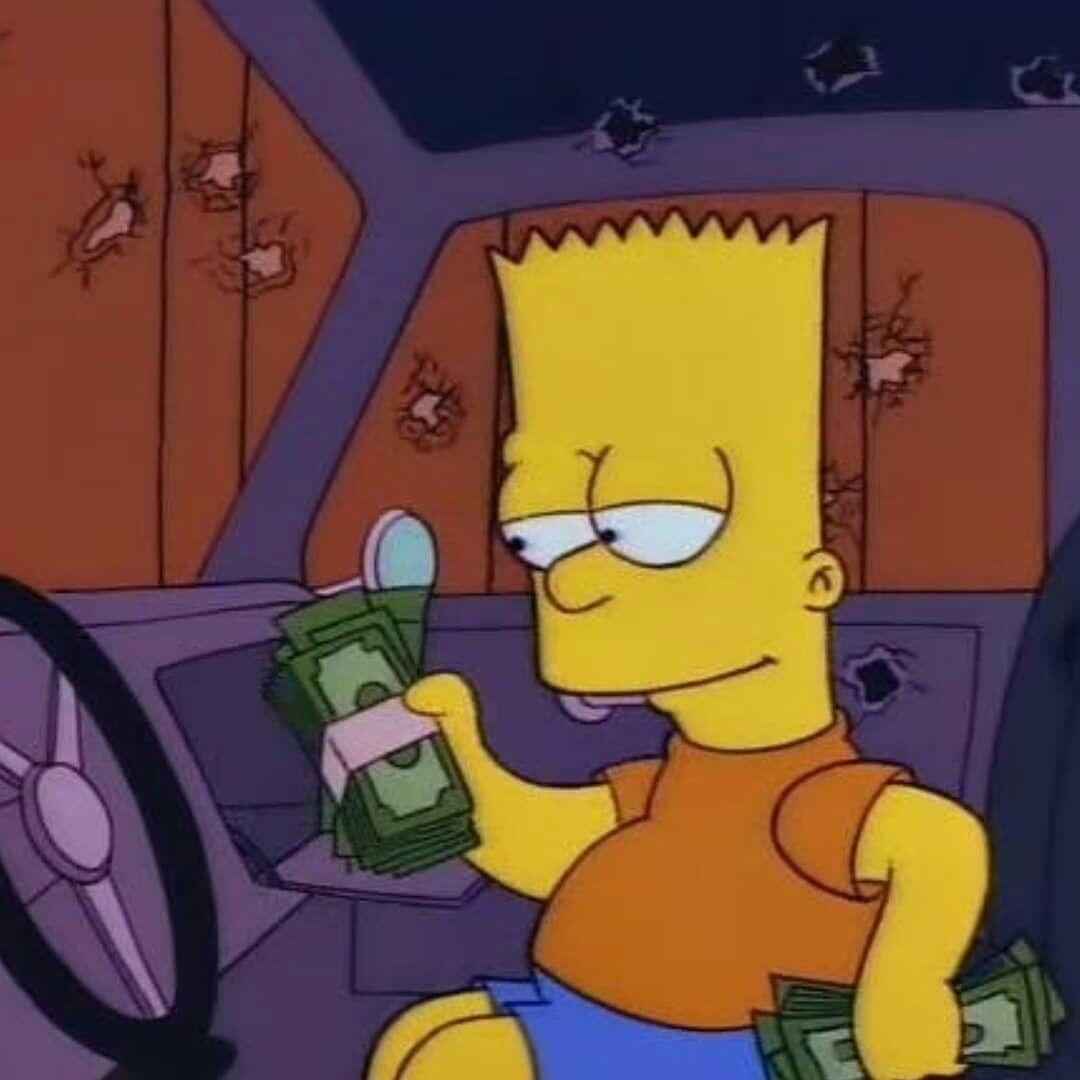 Instagram Sadjuako The Simpsons Cartoon Profile Pictures Simpson Wave