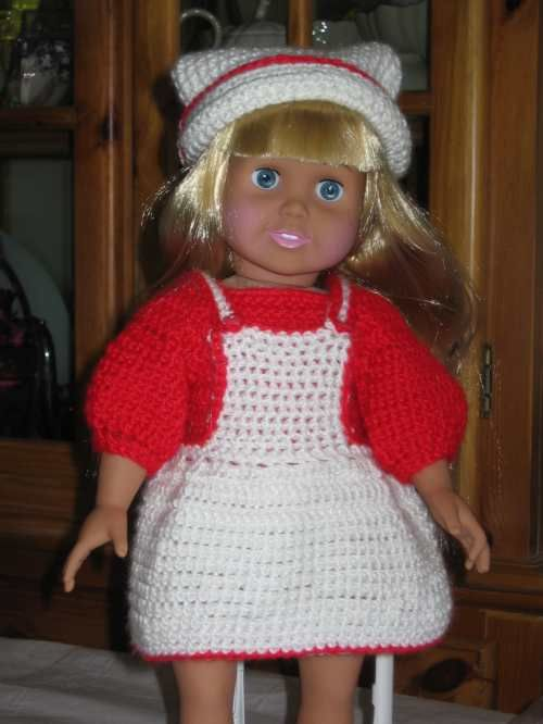 Free Crochet Doll Clothes Patterns for American Girl Dolls « Free ...