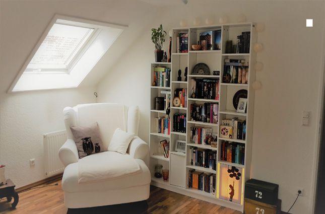Bücherregal Klassisch klassisches bücherregal in weiß mit ügend stauraum für bücher cd