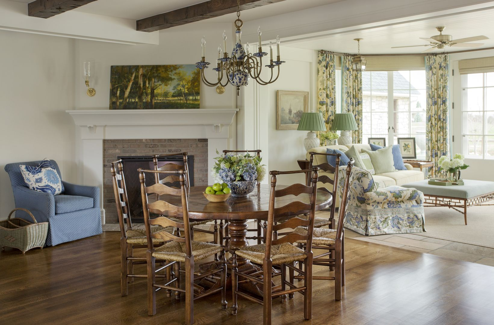 New Construction Of A Traditional Family Home With A Classic