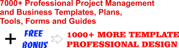 7000 project business template, management