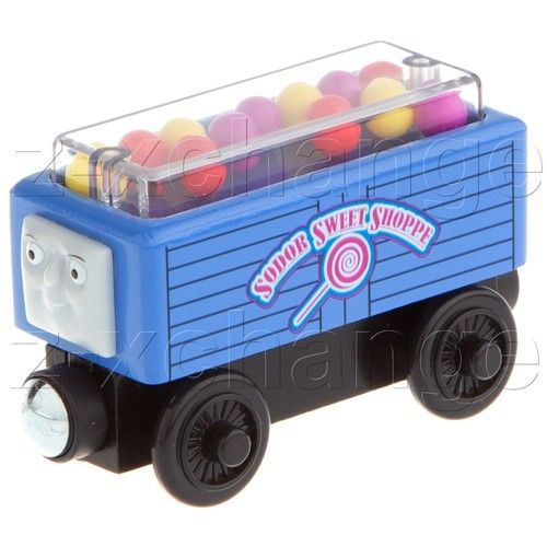 Usa Gumball Car Troublesome Truck Sweet Shoppe Thomas Wooden Engine