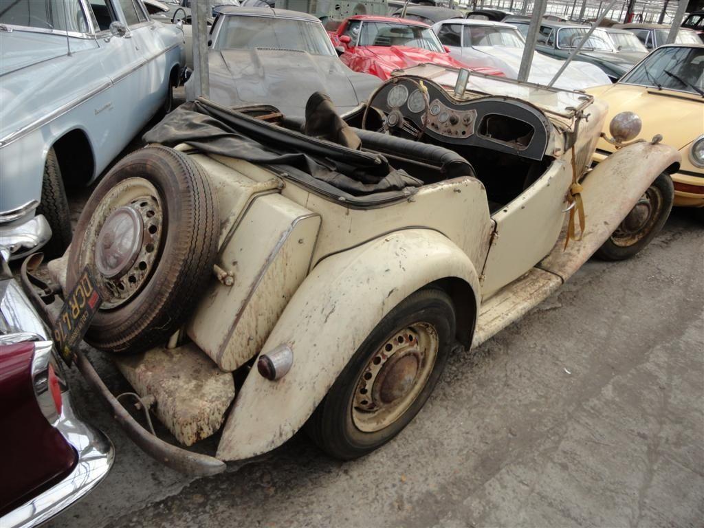 1900 MG TD - to restore | Classic Driver Market | MG ABINGDON ...