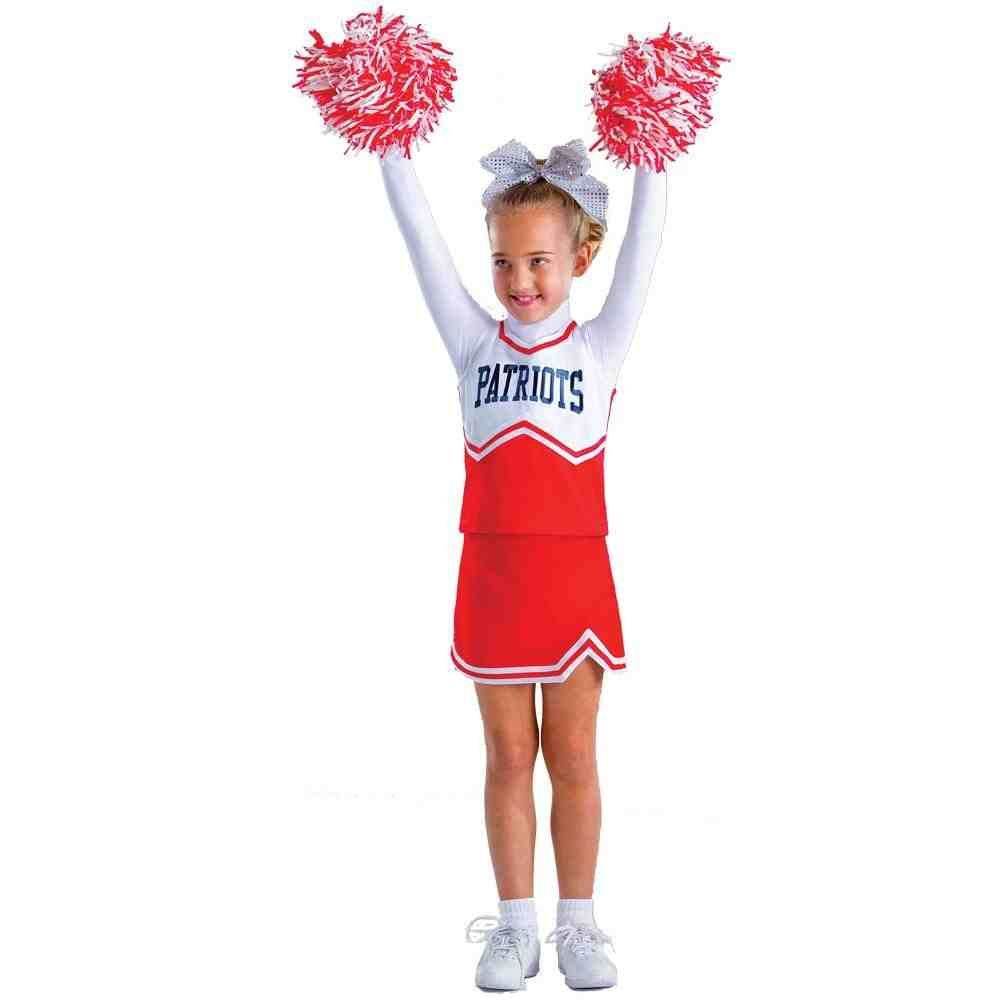 Cheer Kids Youth Cheerleader Uniform Outfit Child Girls Size 4 to 14 Six Colors