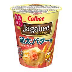 【気になる】明太バター味の「じゃがビー」が新発売!