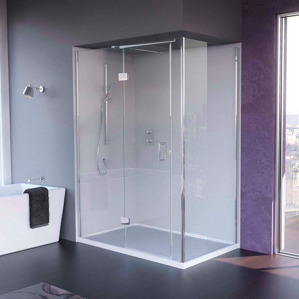 The Matki New Illusion Corner Shower. View more shower enclosures ...