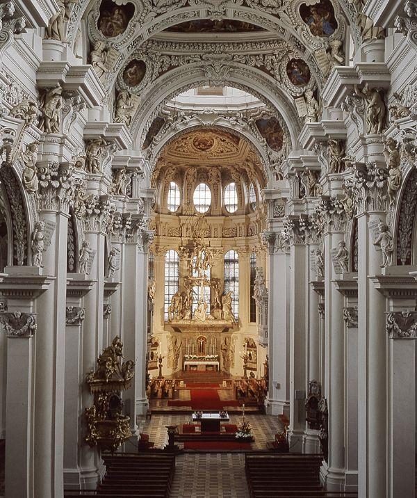 St Stephan S Cathedral In Passau Eastern Bavaria Architecture Pinterest Passau Bavaria