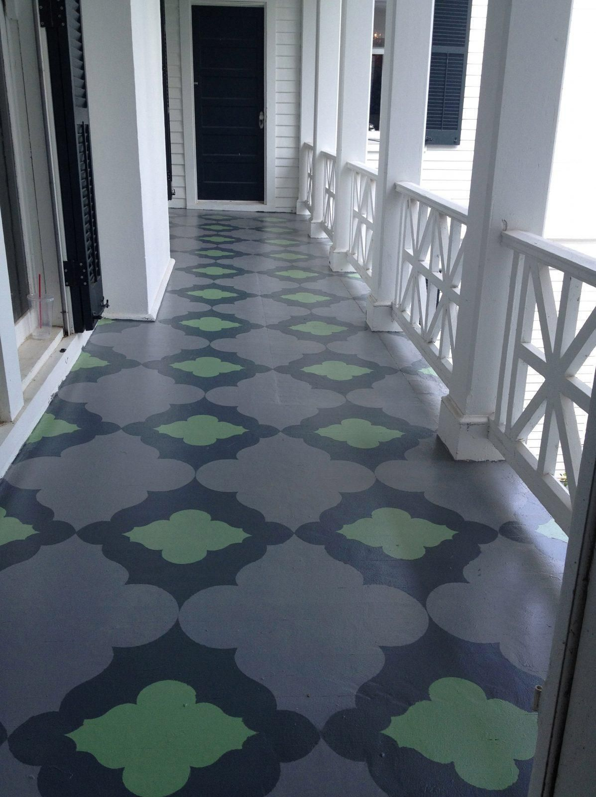 Porch Floor Paint Ideas Porch Flooring Painted Porch Floors