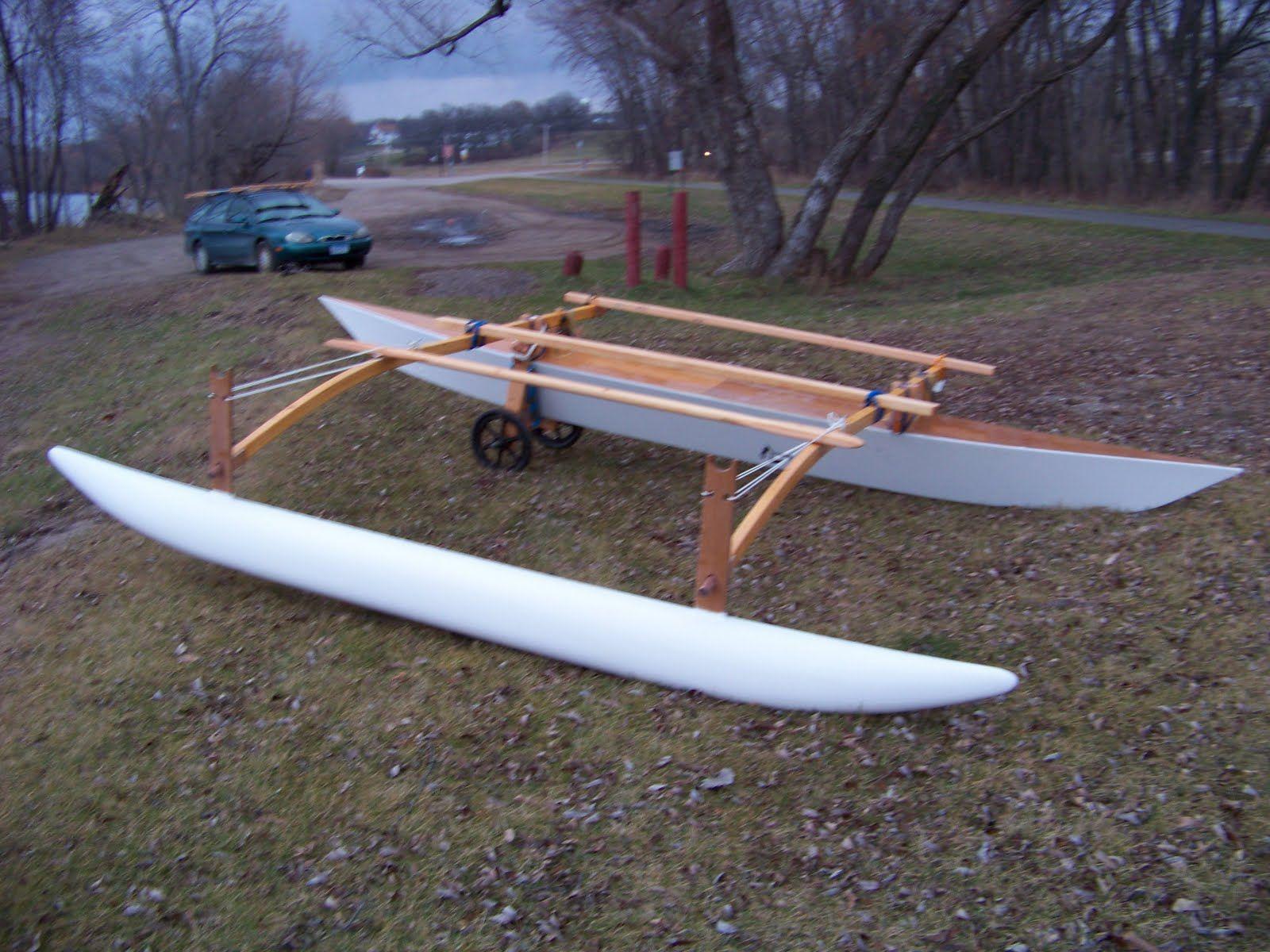 C Lion Outrigger Canoe Doug Weir's Proa Proje...