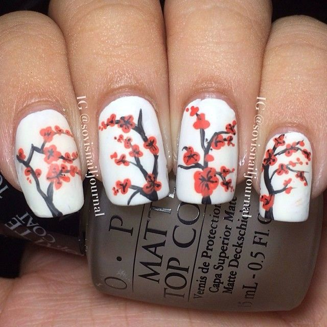 22 Gorgeous Nail Art Designs For Chinese New Year Nails