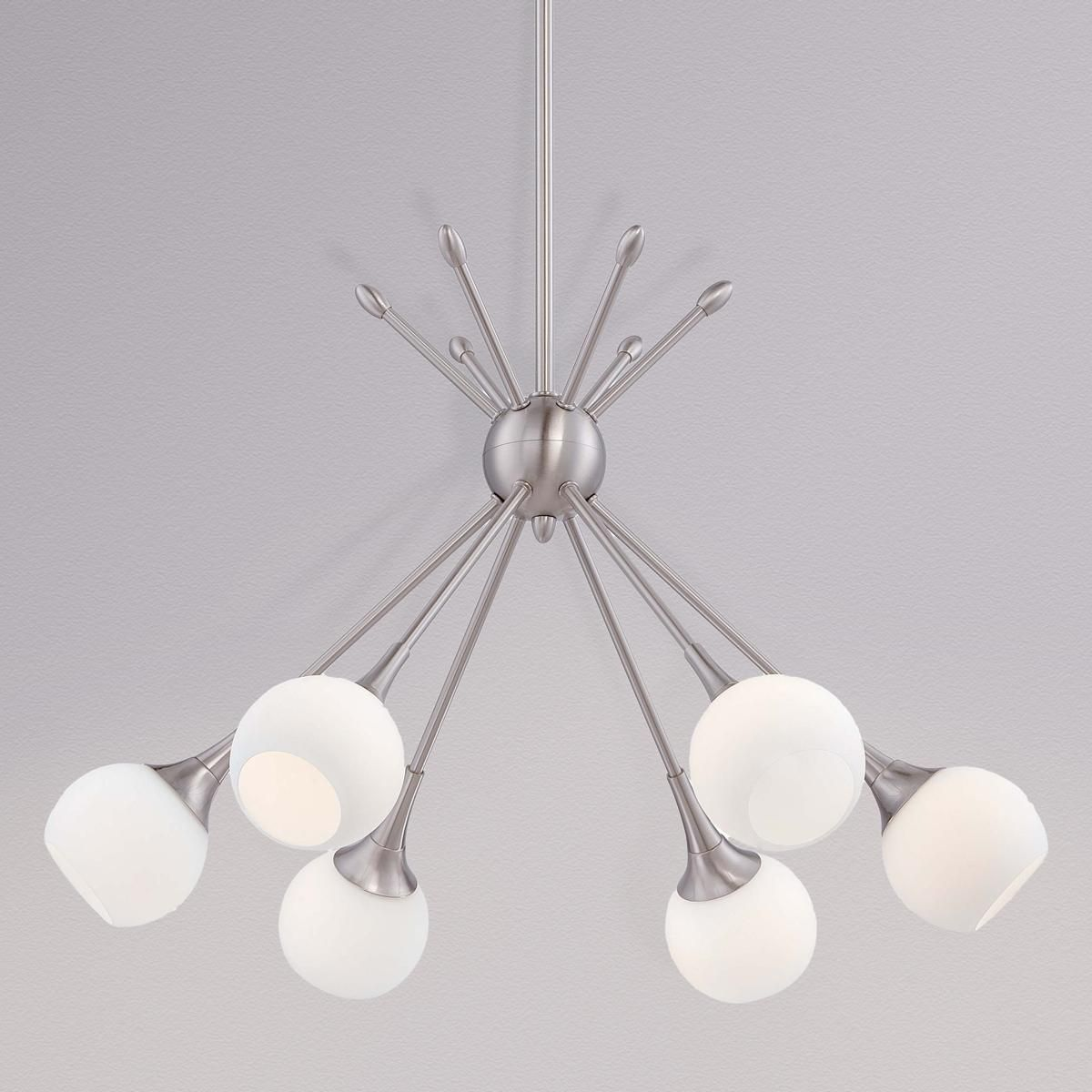 Mid century modern mobile chandelier 6 light midcentury modern mid century modern mobile chandelier 6 light arubaitofo Image collections