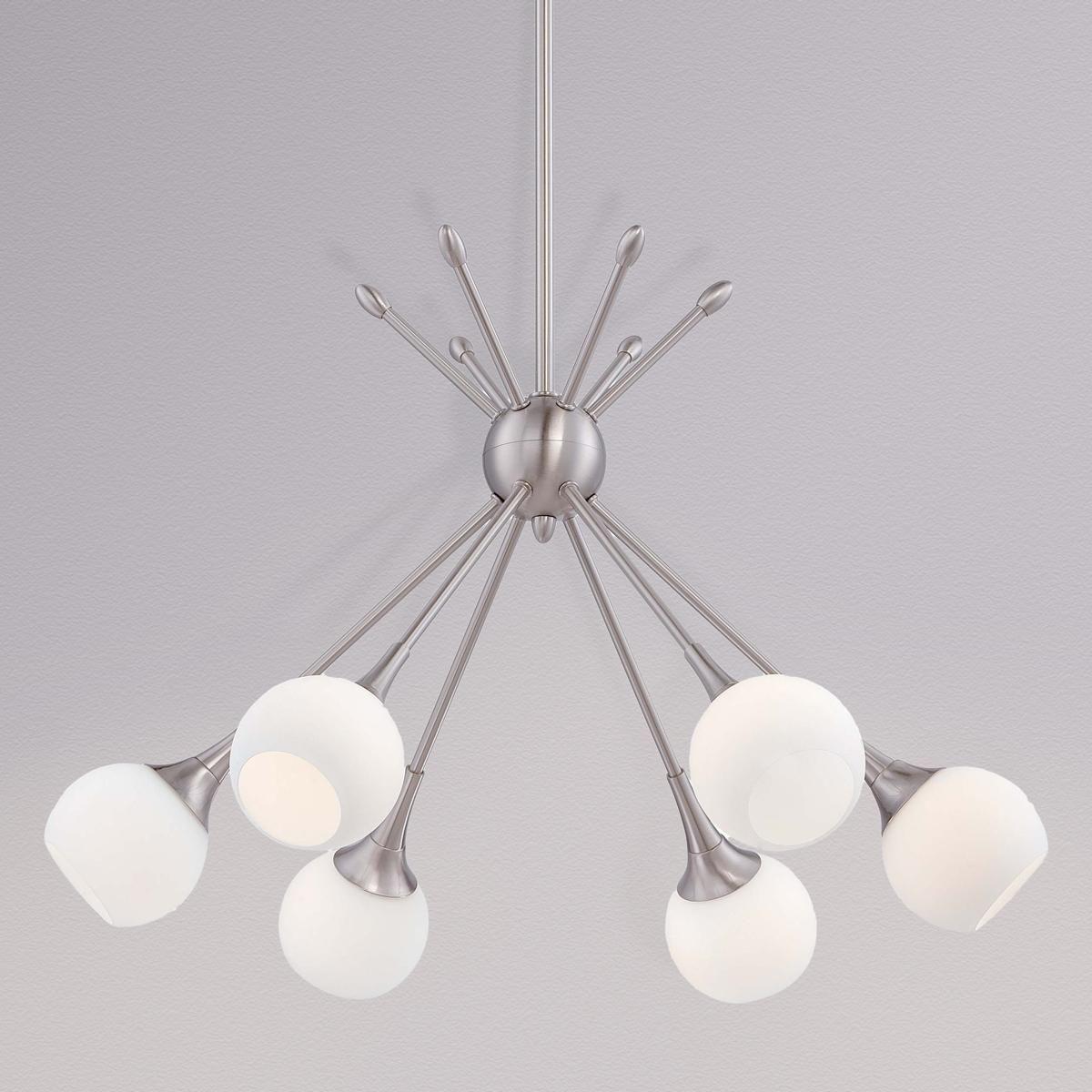 Mid century modern mobile chandelier 6 light midcentury modern mid century modern mobile chandelier 6 light arubaitofo Images